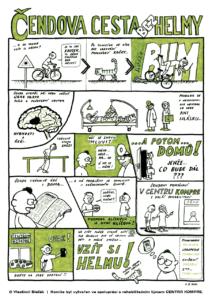 Čendova cesta bez helmy